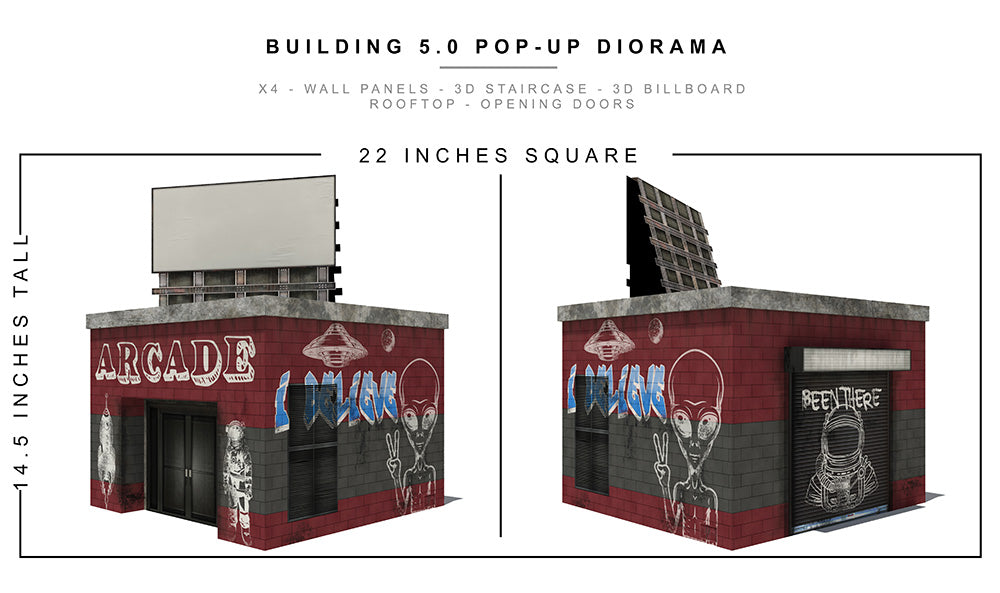 Building 5.0 Pop-Up Diorama