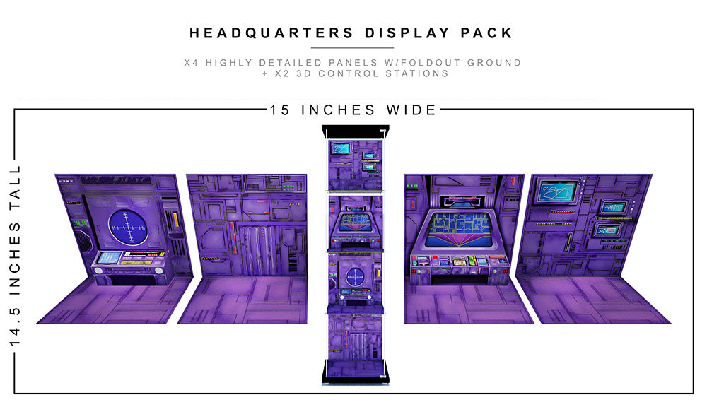 Headquarters Display Pack