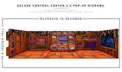 Deluxe Control Center 2.0 Pop-Up Diorama 1/12