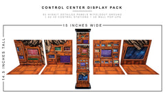 Control Center Display Pack