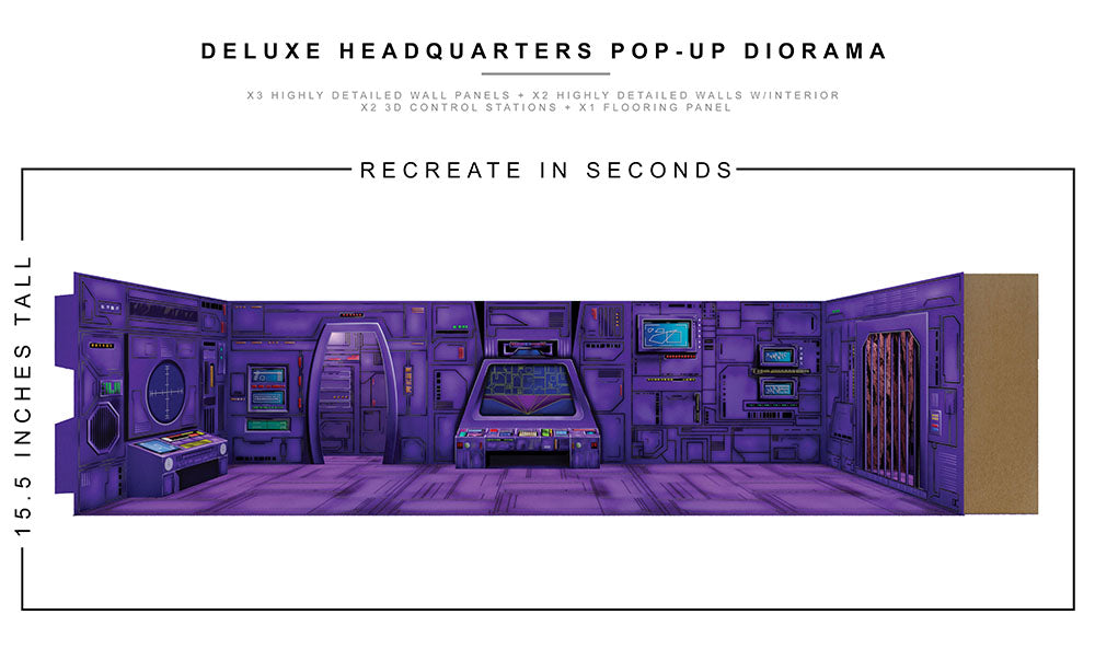 Deluxe Headquarters Pop-Up Diorama 1/12