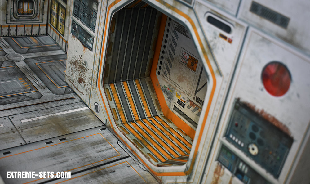 Sector 07 Docking Bay Pop-Up Diorama 1/12