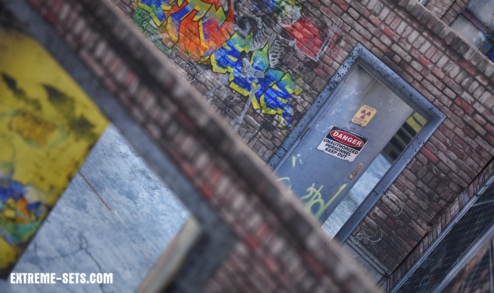 Deranged Alley 2.0 Pop-Up Diorama