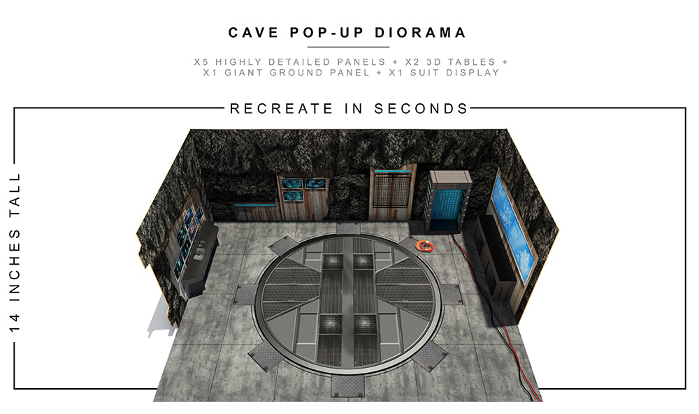 Cave Pop-Up Diorama