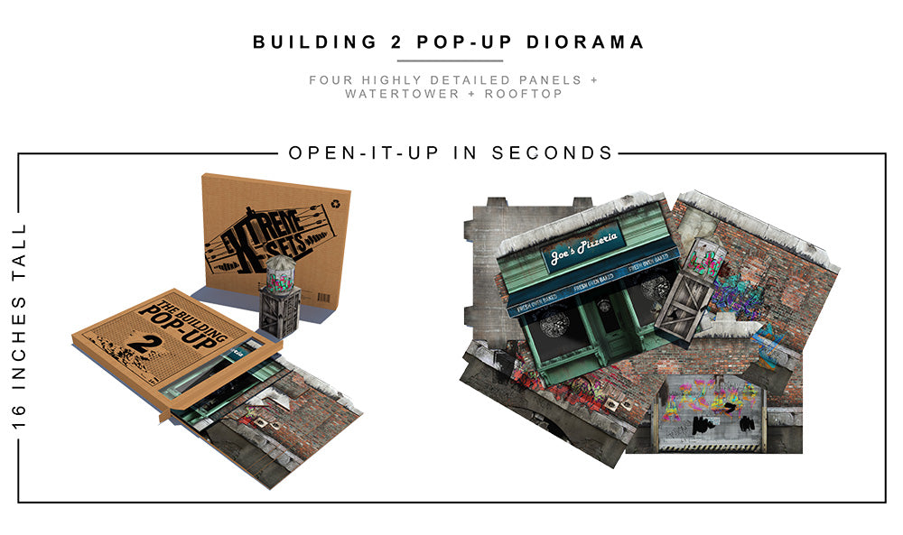 Building 2.0 Pop-Up Diorama