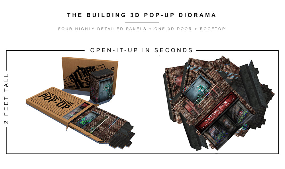 Building Pop-Up Diorama
