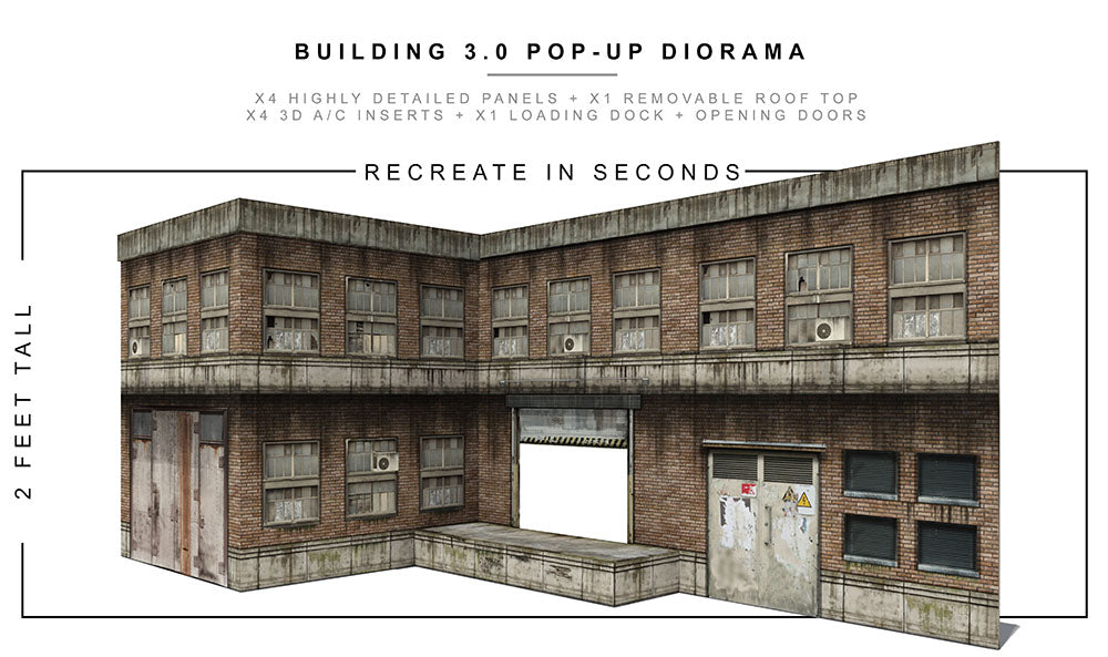 Building 3.0 Pop-Up Diorama