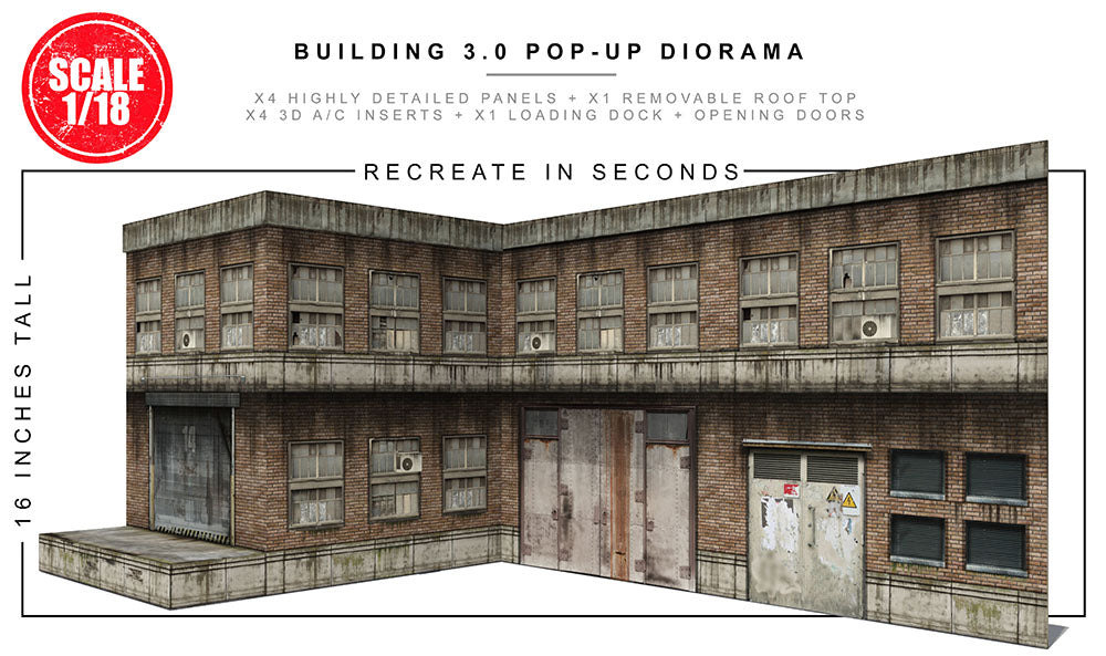 Building 3.0 (1/18) Pop-Up Diorama