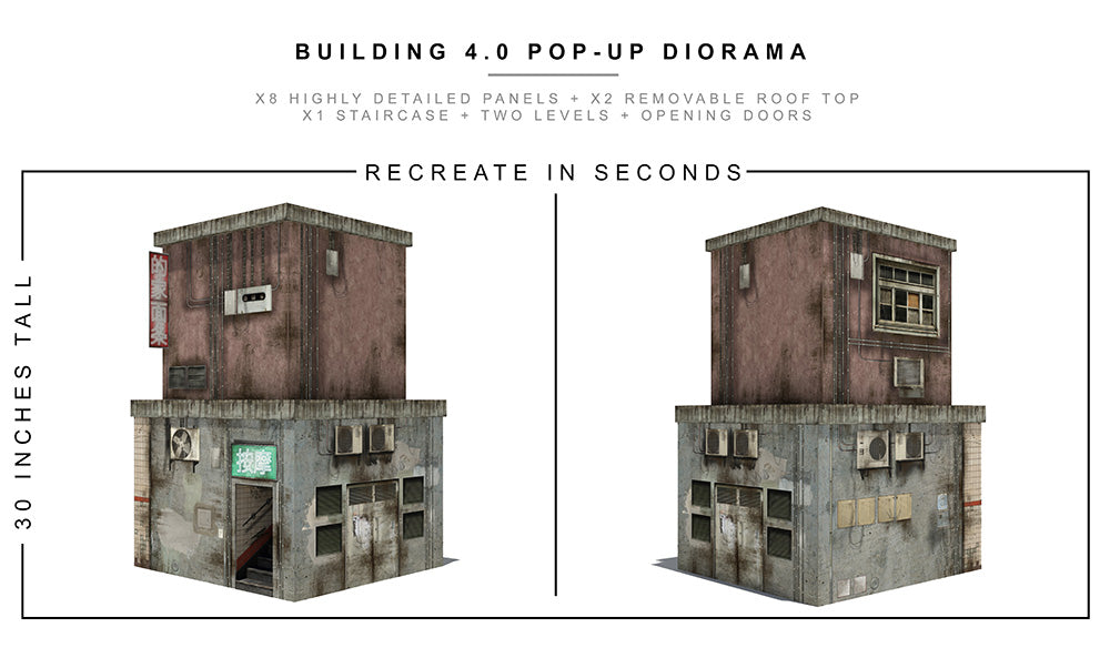 Building 4.0 Pop-Up Diorama