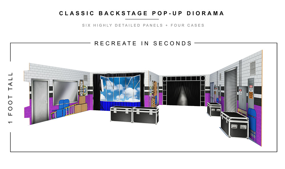 Classic Backstage Pop-Up Diorama