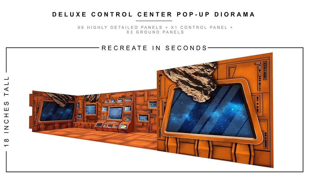 Deluxe Control Center Pop-Up Diorama 1/12