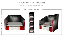 Modern Red Display Pack