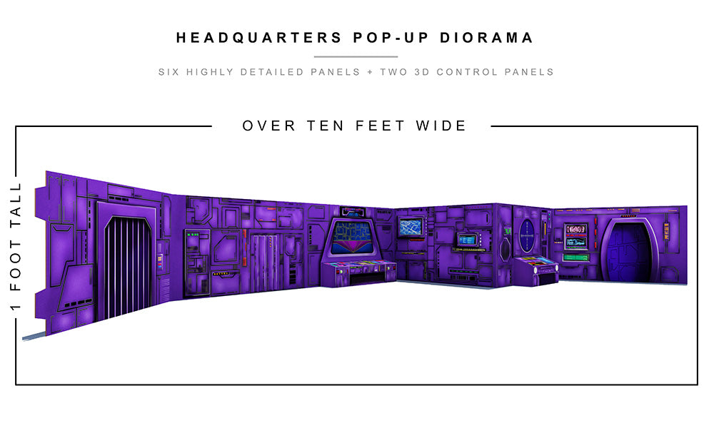 Headquarters Pop-Up Diorama