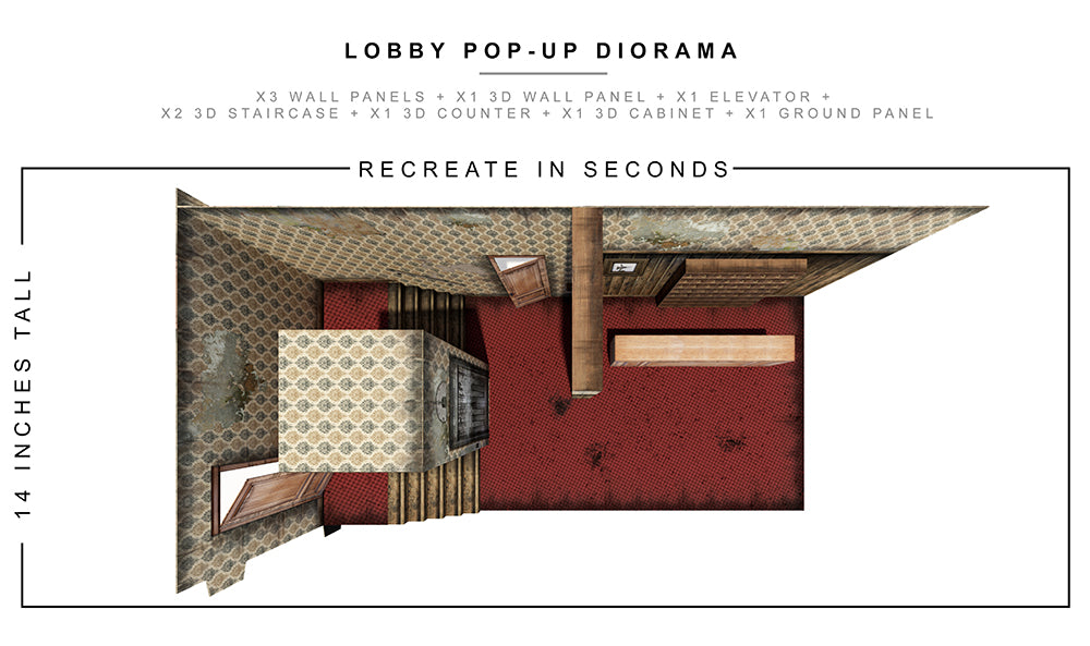 Lobby Pop-Up Diorama