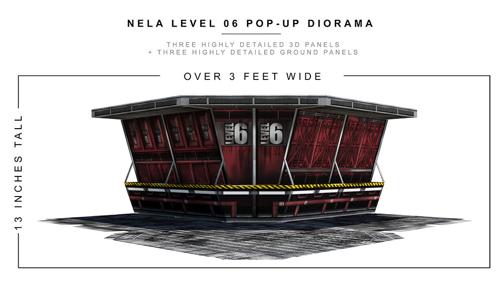 Nela Level 06 Pop-Up Diorama