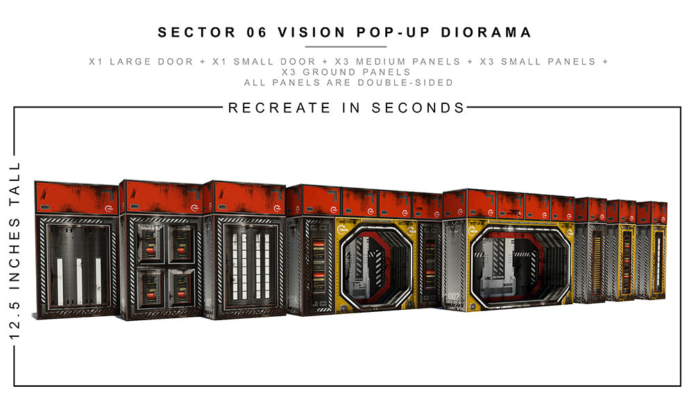 Sector 06 Vision Pop-Up Diorama