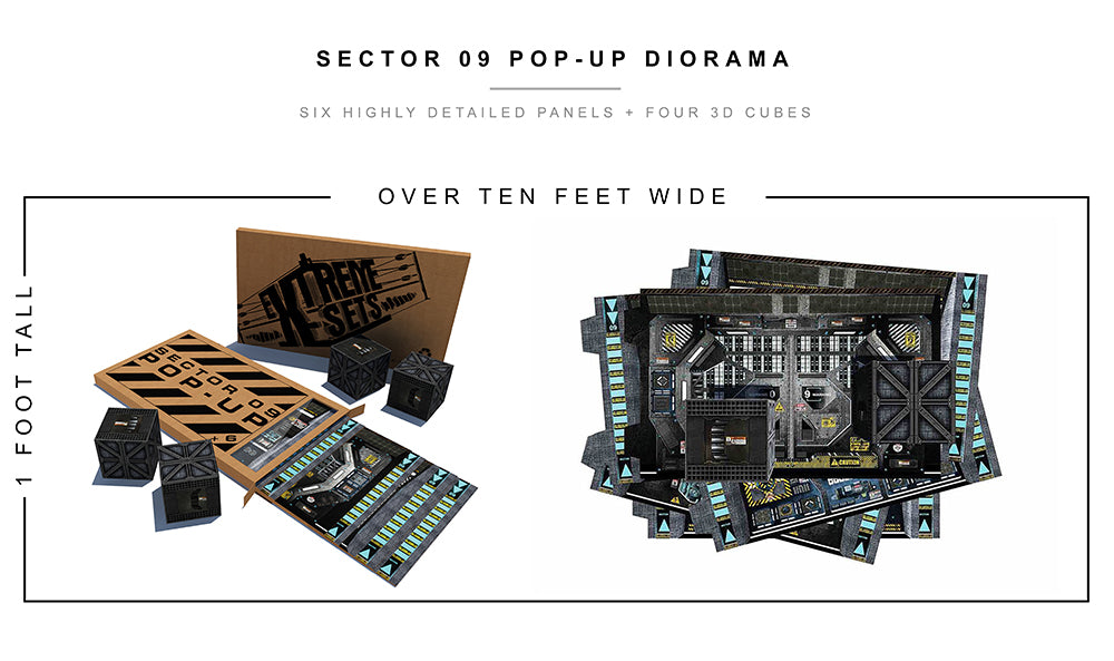 Sector 09 Pop-Up Diorama