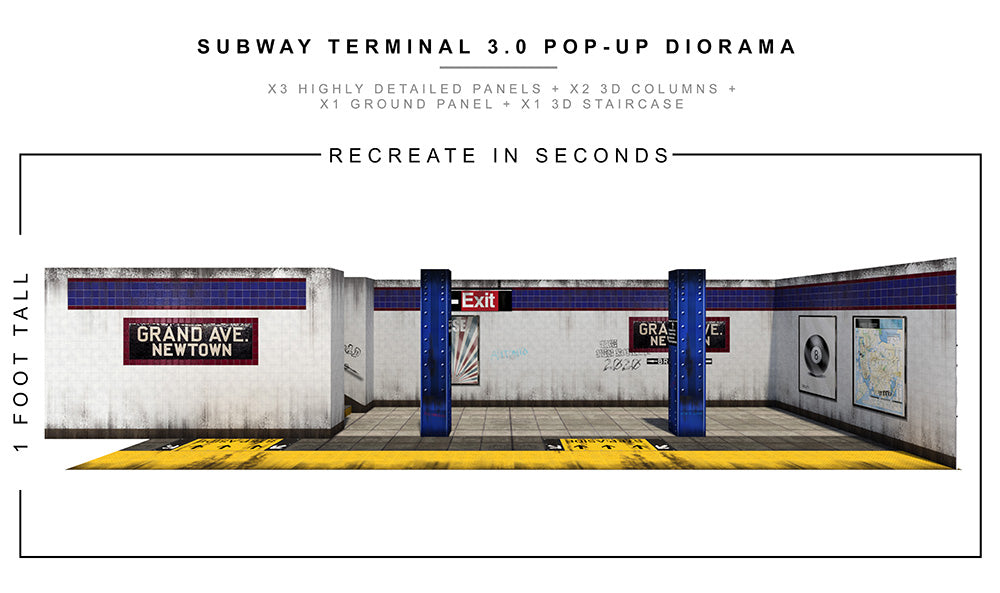 Subway Terminal 3.0 Pop-Up Diorama