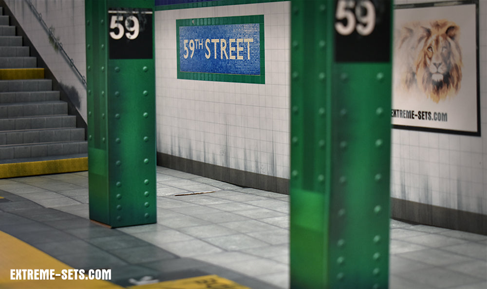 Subway Terminal 2.0 Pop-Up Diorama