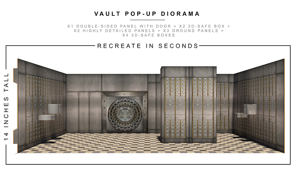 Vault Pop-Up Diorama