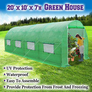 10 Ft. W x 20 Ft. D x 7Ft. H Greenhouse Low Prices
