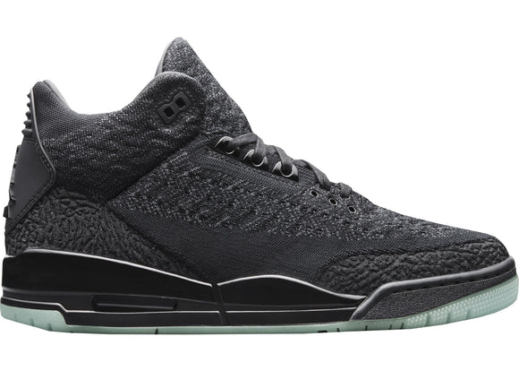 Jordan 3 Retro Black Flyknit PS4 Edition