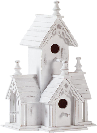 Historic Manor Birdhouse