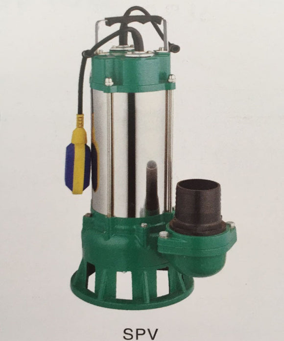 SOLAR SUMP PUMP:  solar powered panel sewage submersible pumps with free motor controller SPV18/12-D48/750