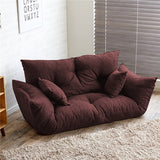 Modern Folding Sofa Bed Adjustable Arm Reclining Back Living Room Furniture Home Double Sofa Couch 2 Seat Living Sofa Lounge