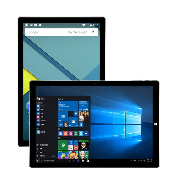 Original Teclast Tbook 10 S 10.1 inch Tablets PC Intel Cherry Trail X5 Windows 10 Home + Android 5.1 Dual OS 4GB 64GB HDMI OTG