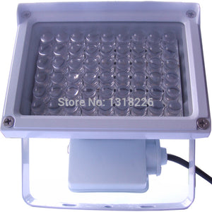 LASER: 1pcs outdoor White-Light Sources 54 10mm LED Diodes illuminator night vision for surveillance camera