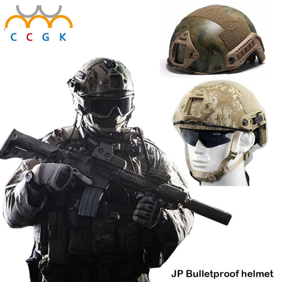 Military tactical bulletproof Kevlar Army ballistic Helmet