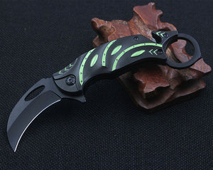 CS COLD Karambit Knife Sharpen CS GO Counter Strike Knives Survival Hunting Tactical Pocket Knife EDC Multi Tools