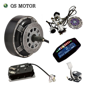 QSMOTOR Electric Car Conversion Kit for 8000W 4X100mm, 5X114.3mm Rims