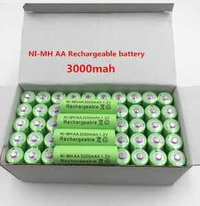 BOX OF 12 Rechargeable AA Batteries