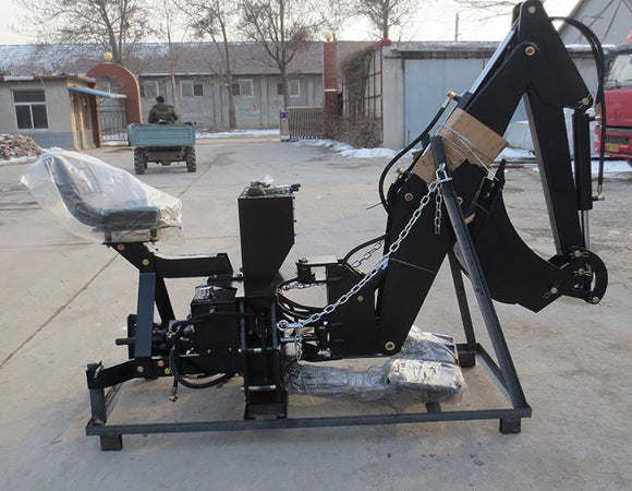 Hydraulic Backhoe For 60-80hp Tractors