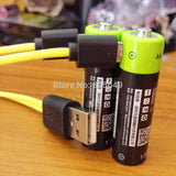 Rechargeable AA Batteries Micro USB