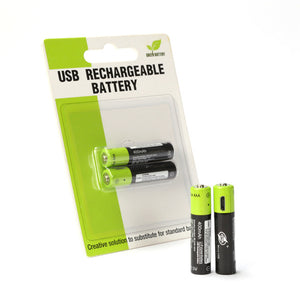 Rechargeable AAA Batteries Micro USB