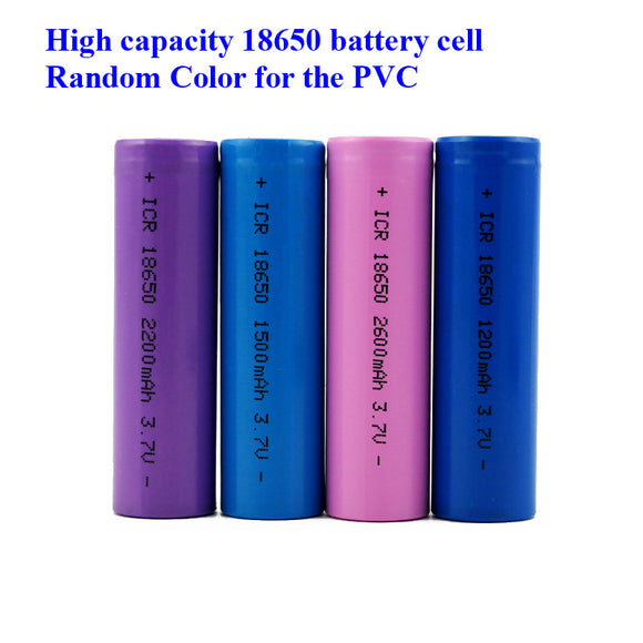 Super Affordable 3.7V li-ion rechargeable 18650 batteries1200mah 1500mah 1800mah 2000mah 2200mah 2600mah