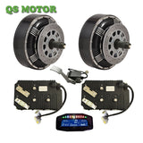 4WD 8000W 96V  Hub Motor Conversion kits for Small Electric Car