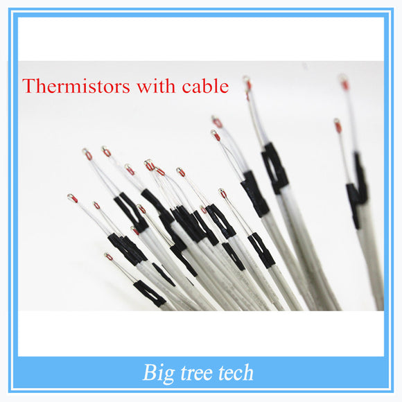 100K ohm NTC 3950 Thermistors with cable for 3D Printer Parts