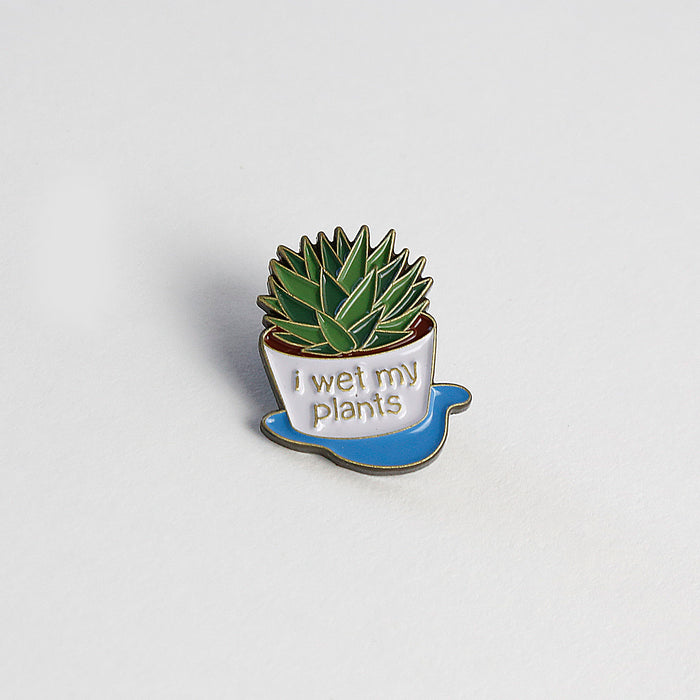 I wet my plants pin
