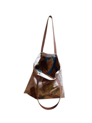 CALYPSO ROSE REVERSIBLE TOTE BAG