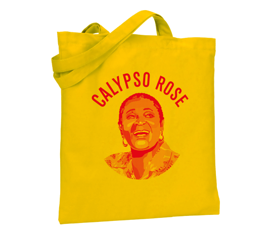 CALYPSO ROSE TOTE BAG