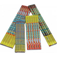 4 ASSORTED EFFECTS ROMAN CANDLES