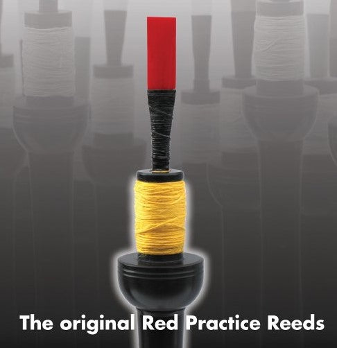 Frazor Warnock Red Practice Chanter Reeds