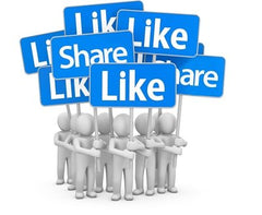 Like, Follow and Share Facebook