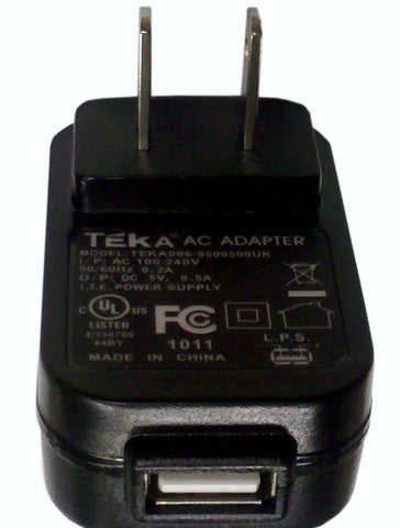 Peterson USB AC Adaptor - US Model