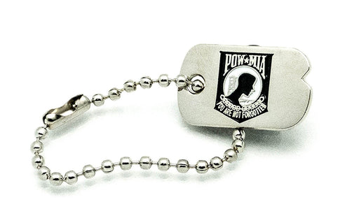 POW MIA Emblem Mint, Patriotic Gifts, USA POW MIA Lapel Pin or Hat Pin Authentic Mini Dog Tag Lapel Pins, Stocking Stuffers Christmas Gifts, Military Veterans, Army, Navy, Air Force, Marines