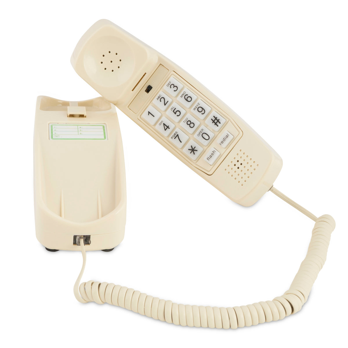 Corded Phone - Bone Ivory